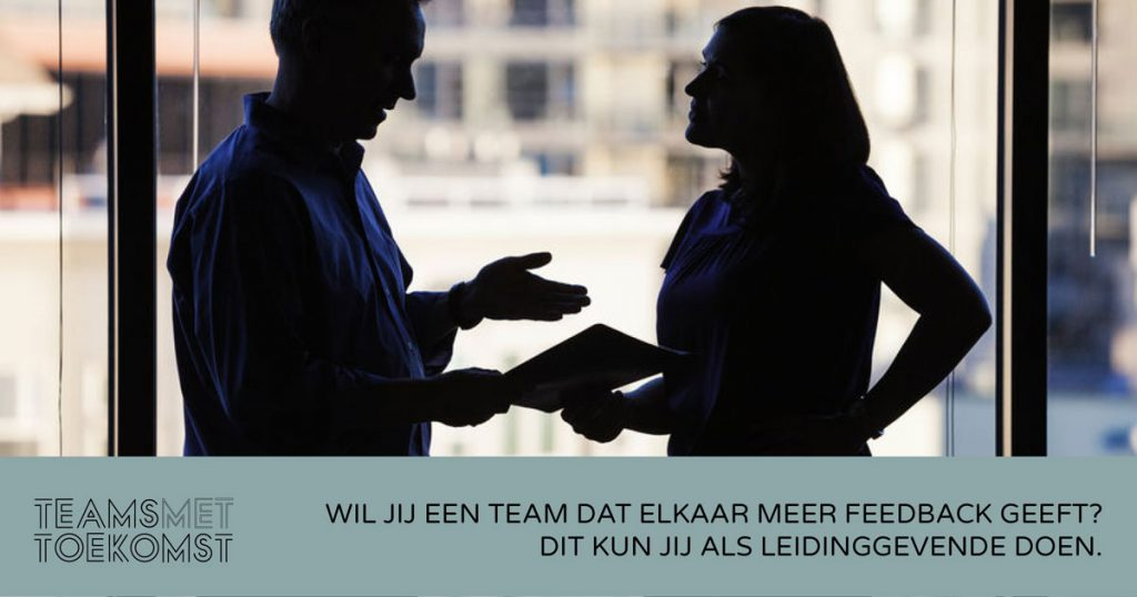 Feedback cultuur in je team