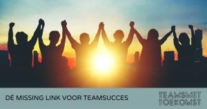 teamgedrag bepaalt teamsucces