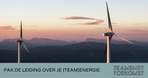 pak de leiding over je team energie